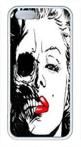 iPhone 5,5S Cases,Marilyn Monroe Skull Case,Personalized Case