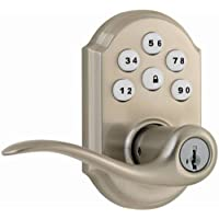 Kwikset 99110-008 SmartCode Electronic Lock with Tustin Lever Featuring SmartKey - Certified Refurbished