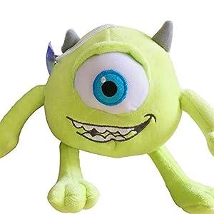 1pcs Mike Monsters University Monster Mike Wazowski Plush Toys Monsters Inc Plush Toys for Best Birthday Gift for Kids Green
