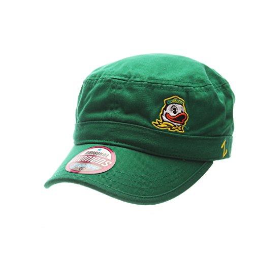 Zephyr NCAA Oregon Ducks Adult Women Women's Cadet Hat, Adjustable, Team Color
