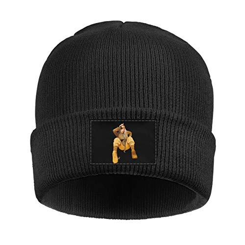 HOPAPALA Billie-Eilish- Wool Cuffed Plain Beanie Warm Winter Hats Watch Skull Cap for Men Women
