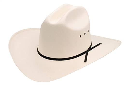 a7ab3cfb84f Sunrise Outlet Cattleman Low Crown Cowboy Straw Hat Beige at Amazon ...