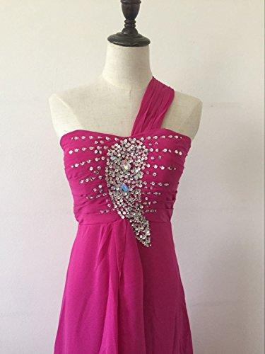 emmarcon Shoulder One Violett Kleid Damen Z0ZxzXRw4q