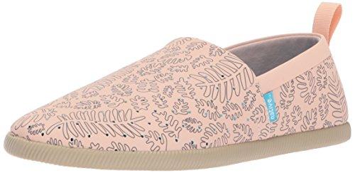 Native Women's Venice Print Slip Fashion Sneaker, Chameleon Pink/Rocky Brown/Matease, 6 B US
