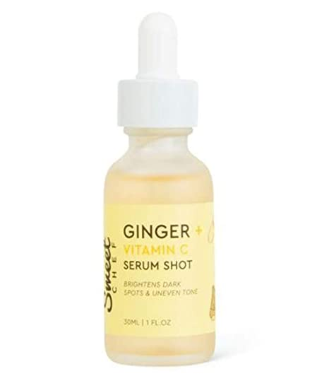 Sweet Chef Ginger Vitamin C Serum 1 Fl  Oz! Vitamin C for Face with  Turmeric Root Extract! Anti-aging, Fade