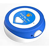 Find My Pet Nano GPS Dog Tracker Smallest Wi-Fi and Bluetooth Enabled Pet GPS Worldwide Tracking with Free Web, Android & iPhone Apps