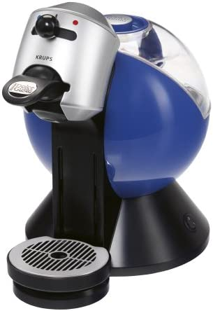 Krups yy1335fd cafetera cápsulas Dolce Gusto Azul Titanio: Amazon.es: Hogar
