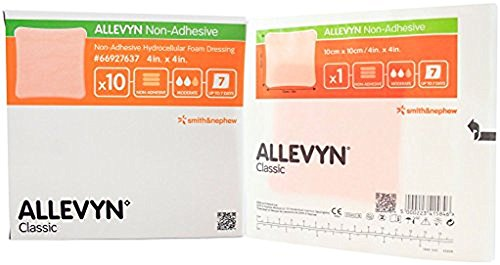 Smith and Nephew 66927637 Allevyn Hyrocellular Foam Dressing 4