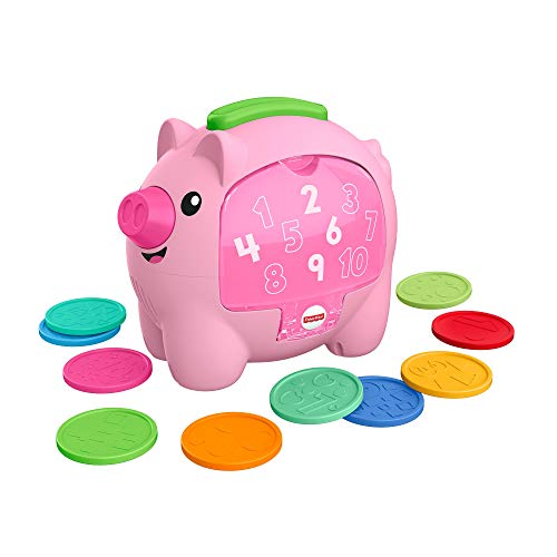 Fisher-Price Laugh & Learn Count & Rumble Piggy Bank Now $12.21
