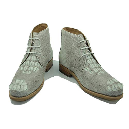 Scarpe Stringate su Pelle Head Uomo Business White da in Absorption Misura High Scarpe End Casual Round Shock PrUqP5n