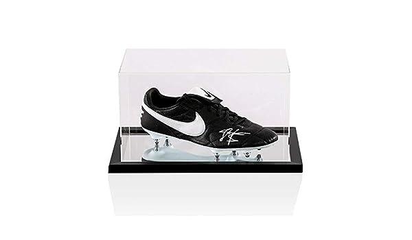 4f1da11244626 John Barnes Signed Football Boot Nike - In Acrylic Case Autograph ...