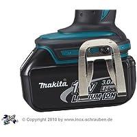 Makita 324705-1 Clip de ceinture pour visseuse sans fil Makita BHP452 BHP453 BHP454