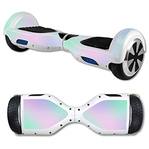 MightySkins Skin for Self Balancing Mini Scooter Hover Board - Cotton Candy | Protective, Durable, and Unique Vinyl Decal wrap Cover | Easy to Apply, Remove, and Change Styles | -