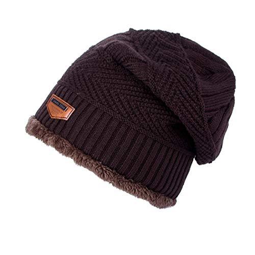 0b419b7d777 VJUKUB Winter Warm Knitting Hats Baggy Slouchy Beanie Hat Cap Cuffed Plain  Beanie Warm Winter Knit Hats Unisex Watch Cap Skull Cap