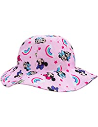 Disney Minnie Mouse Grils Pink Bucket Hat