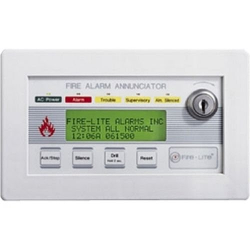 FIRE-LITE ALARMS LCD80F FIRE-LITE LCD-80F 80 CHARACTER (Lcd Annunciator)