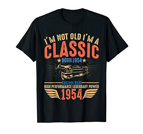 Vintage 65th Birthday Gift Ideas 1954 T-shirt for