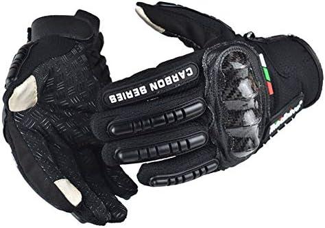 夏の手袋、フルフィンガーハーフフィンガーハードナックル自転車オートバイ軍事戦術戦闘訓練陸軍射撃屋外手袋,黒,XL