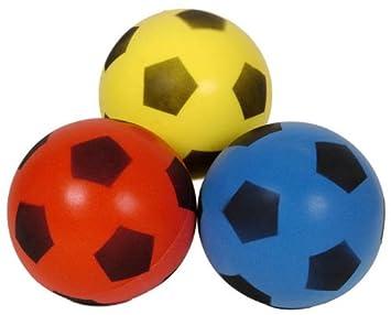 Balón de fútbol de Esponja: Amazon.es: Juguetes y juegos