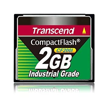Amazon.com: Transcend 2 GB CF Card 200 x Industrial ...