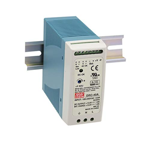 (DIN Type Security Power Supply 40.2W DRC-40A Meanwell AC-DC SMPS DRC-40 Series MEAN WELL Switching Power Supply)