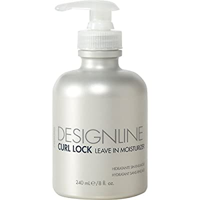 Curl Lock Leave-in Moisturizer, 8 oz - Regis DESIGNLINE - Leave-In Conditioner Treatment that Helps with Shape Retention and Works as an Instant Detangler for Defrizzing Curly Hair