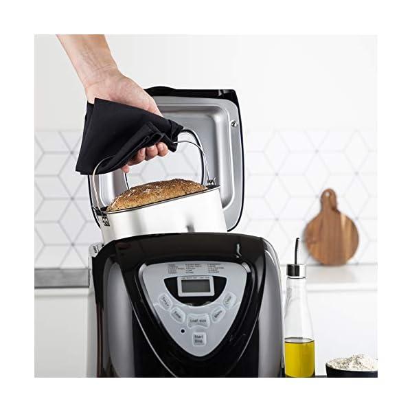 Princess 152009 Macchina per il pane - 600 Watt, Grande capienza 0.9kg, 15 programmi di cottura, Modalità senza glutine… 4
