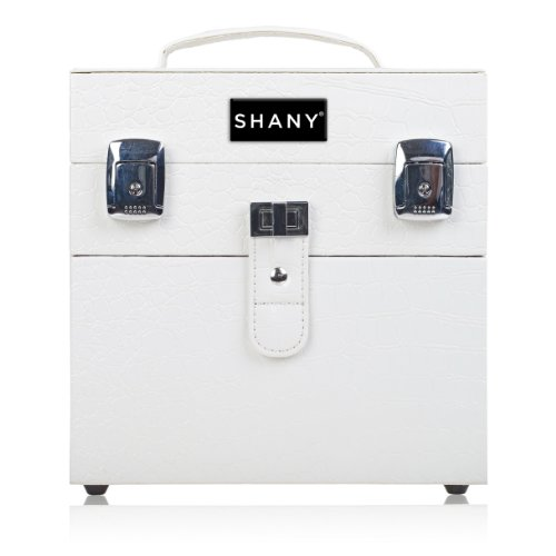 SHANY Color Matters - Nail Accessories Organizer and Makeup Train Case - White Lily from SHANY Cosmetics