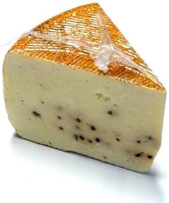 Queso de oveja Pecorino con pimienta DOP 300 g de Italia: Amazon.es: Alimentación y bebidas