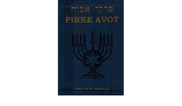 Pirke Avot Tapa Blanda: Rabino Amram Amselem: 9781883932268: Amazon.com: Books