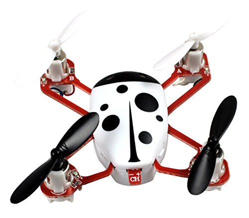Cheerwing CHEER X1 2.4Ghz 4CH 3D Mini RC Quadcopter with Headless Mode Nano RC Drone UFO with LCD Screen White