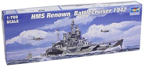 - Trumpeter 1/700 HMS Renown British Battle Cruiser 1942 Model Kit
