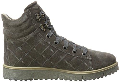Ematite 88 Alto Donna Grigio Collo Legero Sneaker a Campania p0Raxnv6