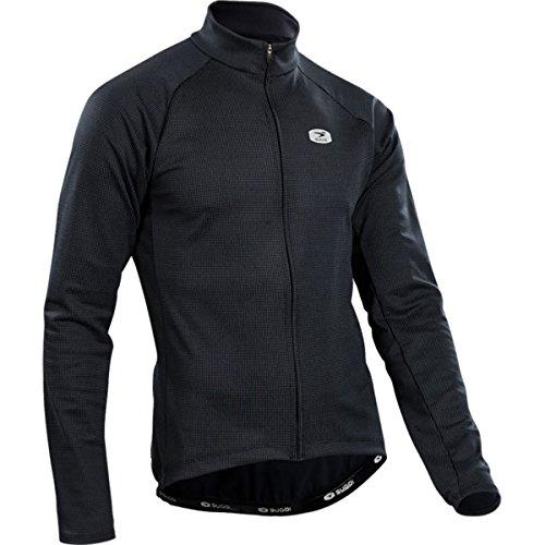 Zip Midzero Sugoi Shirt (SUGOi Zap Thermal Long-Sleeve Jersey - Men's Black, M)