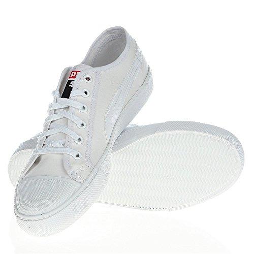 Puma - Zapatillas para hombre Blanco
