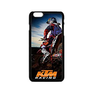 Motocross Ktm Racing Black Phone Case For iPhone 6