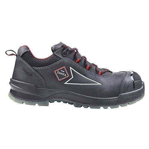 Chaussures Sanita de sécurité homme Anthracite pour afYfxdw