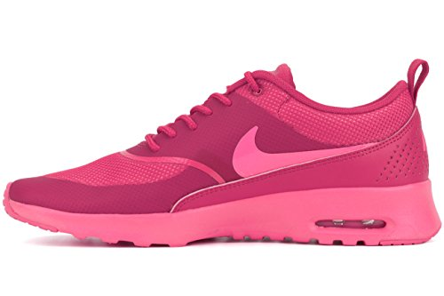Nike Womens Air Max Thea Atletisk Joggesko Pink Pow / Fireberry, 11,5