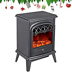 GMHome Freestanding Fireplace by GMHome