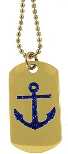 Eagle Sailing Ship - Dog Tag Key Or Chain Necklace Navy Ship Anchor Nautical Sailing #4380