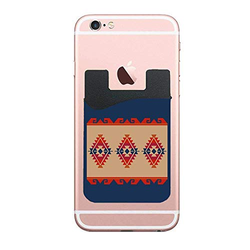 Daryl's Poncho Phone Card Holder,2 Packs Adhesive Stick On Wallet Card Holder Phone Pocket for iPhone Android and Most Smart Phones ()