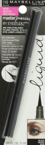 Maybelline Makeup Eyestudio Lasting Drama Gel Eye Liner, Blackest Black, Waterproof, 0.106 oz