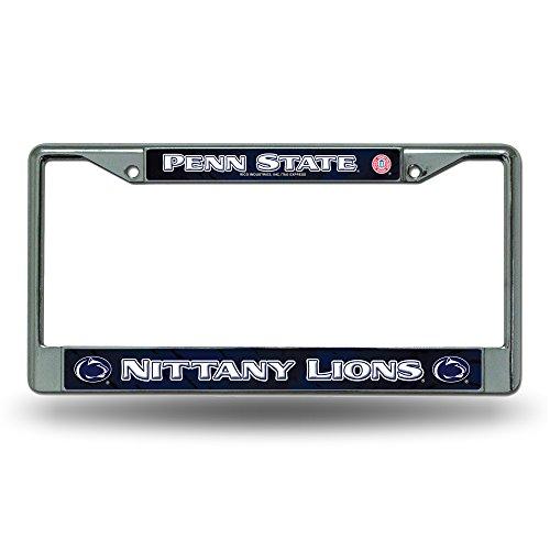 Rico Penn State Nittany Lions NCAA Chrome Metal License Plate Frame