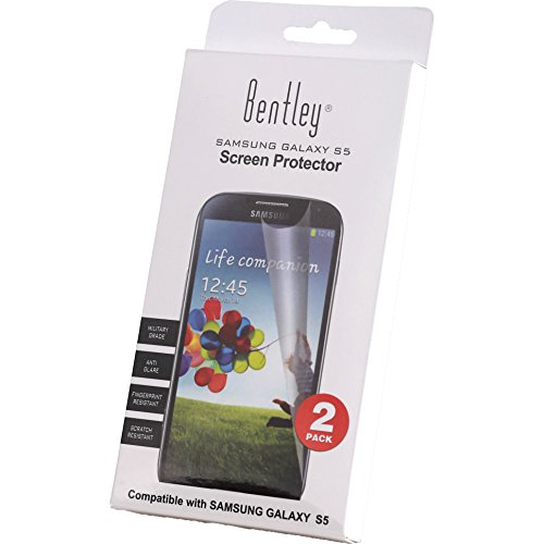 bentley-high-definition-screen-protector-for-the-samsung-galaxy-s5-phone-top-quality-1-year-limited-