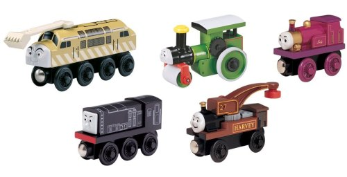 - Learning Curve Thomas & Friends Wooden Railway - Calling All Engines! Gift Pack