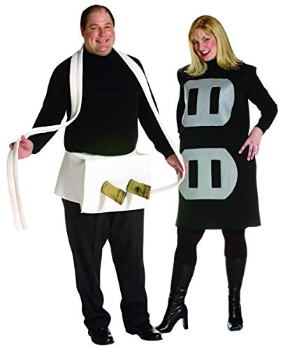 Rasta Imposta Plug & Socket Couples Costume Set, Plus ()