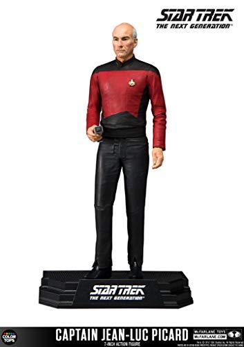 (McFarlane Toys Star Trek Captain Jean-Luc Picard Collectible Action Figure)
