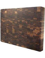 Kobi Blocks Walnut End Grain Butcher Block Wood Cutting Board 10 X 18 X 3