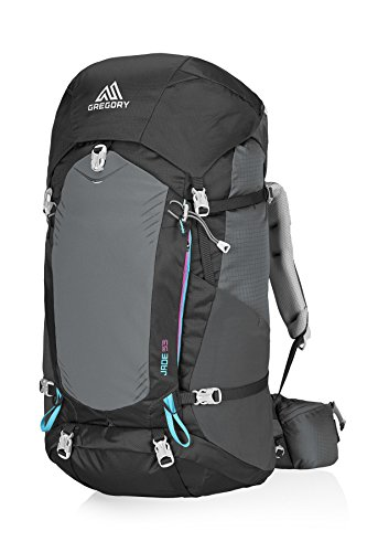 Gregory Mountain Products Jade 53 Liter Women's Backpack, Dark Charcoal, Extra - Steel Gregory Products