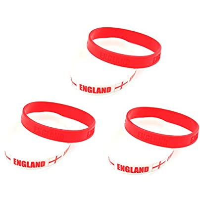 Zest England George Cross Wristbands Red amp White Estimated Price £3.99 -